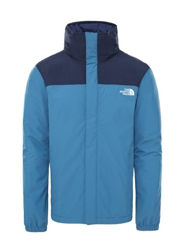 The North Face The North Face Resolve Insulated Erkek Mont Mavi Mavi